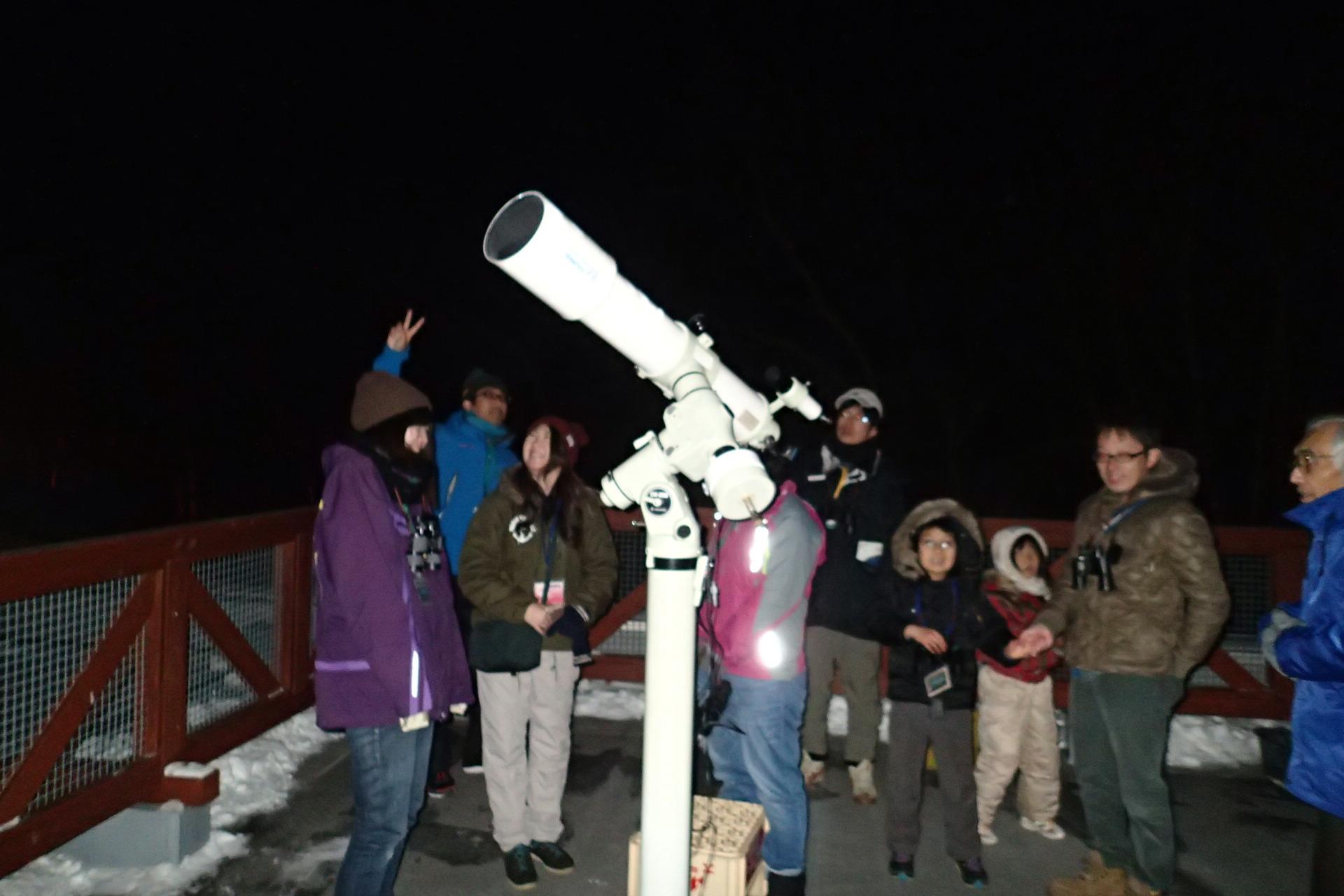 平成30年度 「信州高遠星座観察会」[①12/1~2 ②12/8~9 ③3/9~10 ]の参加者募集は締め切りました